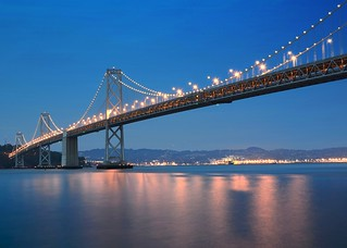 Blue Bridge   by D.H. Parks