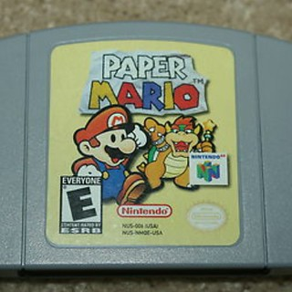 Paper Mario for N64 Original Cartridge! I loved this game! | by JeepersMedia