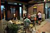 瓊林153號民宿(瓊林寄)適合文人彙集的天井