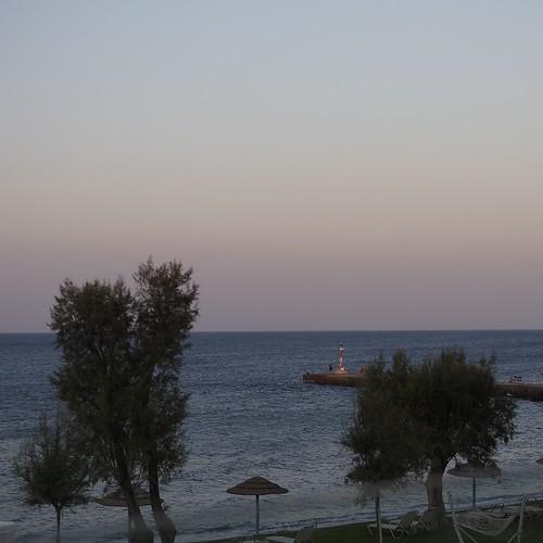 ocean light sunset beach olympus clear greece omd em5