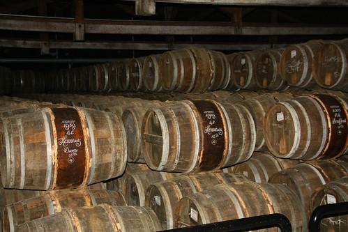 Hennessey Brandy barrels