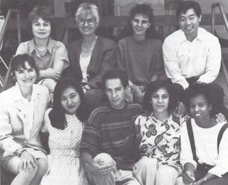 Oldenborg Center staff from 1992