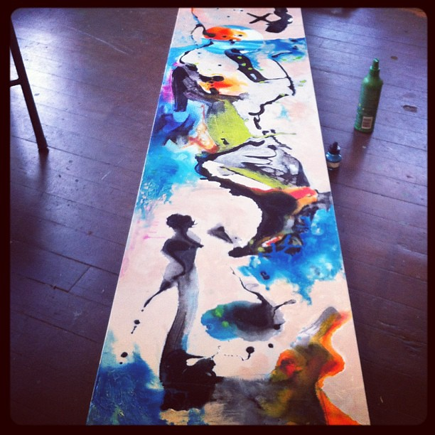 art #mixedmedia #canvas #liquitex #ink #acrylic #paint #p
