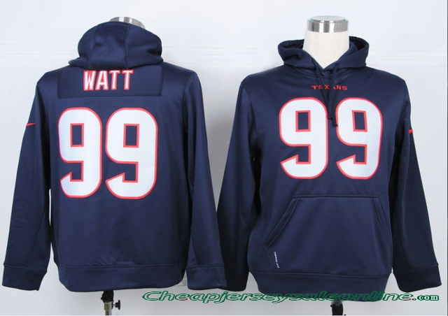 pretty nice 5d637 4fac6 Cheap Nike Houston Texans #99 J.J. Watt Jersey Hoody | Flickr