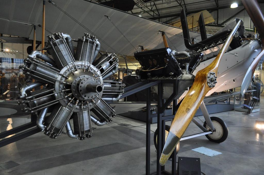 Bentley BR2 and Hispano Suiza V8 Aircraft Engines | Royal Ai