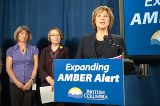 Premier Launches Expanded AMBER Alert to Keep Kids Safe | by BC Gov Photos