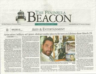 News Publication Artist Todd Krasovetz  the Beacon Peninsula article March 20120001 | by takrasovetz