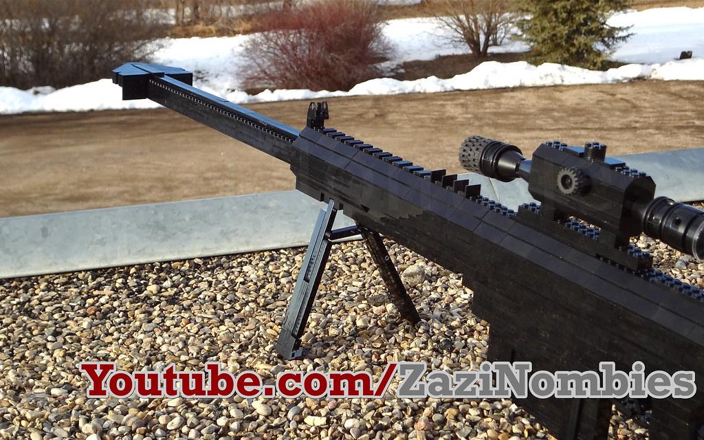 Lego Barrett 50 Cal Sniper Life Size | The Barrett  50 cal s