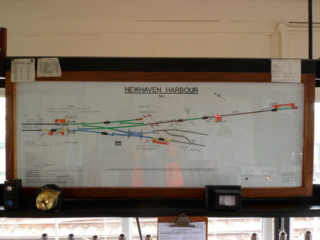 Newhaven Harbour Diagram