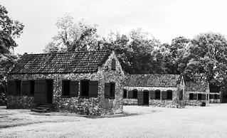 Original Slave Cabins   by Rennett Stowe
