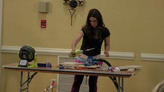 Ana at work