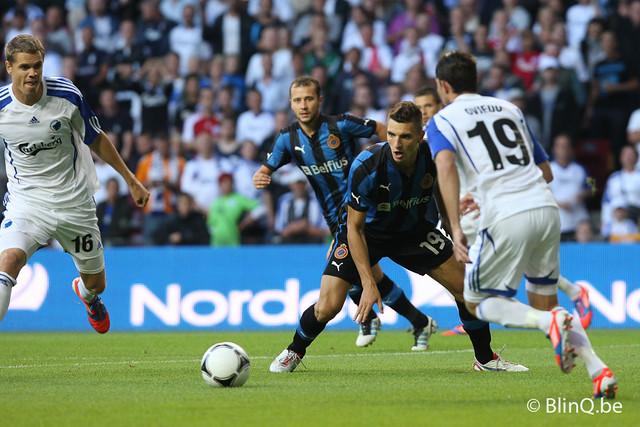 Kopenhagen - Club Brugge (1 augustus 2012)