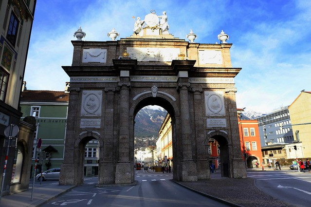 Innsbruck's Triumphal Arch