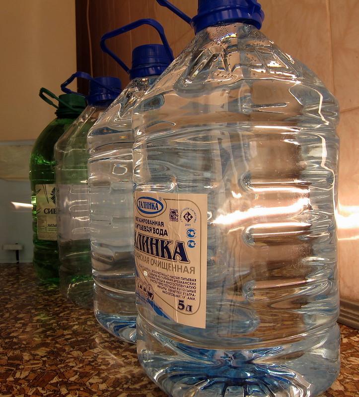 drinking water ...