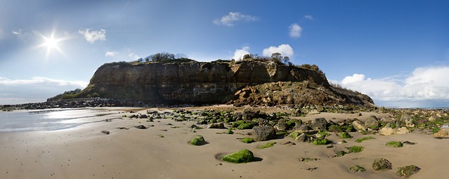 The end of the earth - Bonchurch Panorama