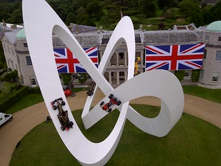 Lotus sculpture at Goodwood Festival of Speed | by Bruno Postle