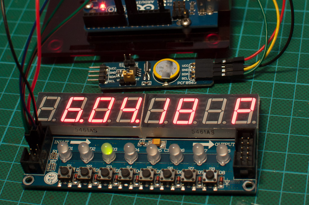 Arduino, Display and RTC | Here's the three main parts toget… | Flickr