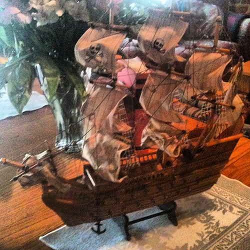 Pirate ship - garage sale find by Chris and Kadi | by Life With Dee