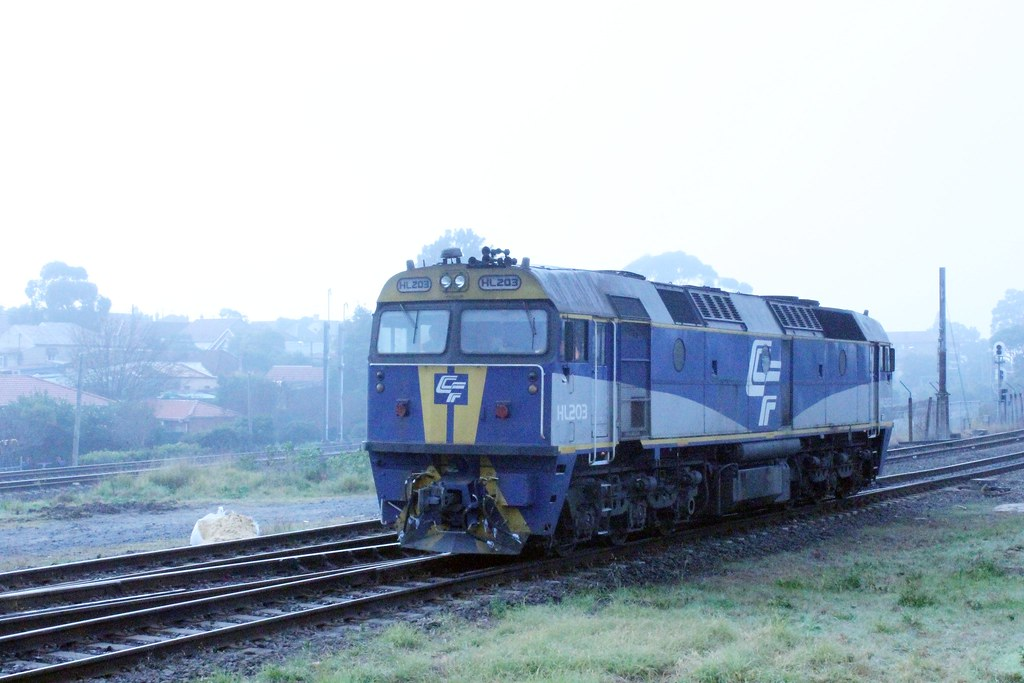 HL203 at Marrickville in the Fog by Anthony