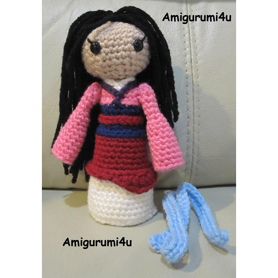 Disney Princess Amigurumi by rose200 on DeviantArt | 570x570