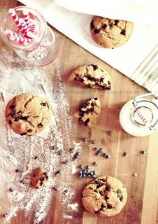 American chocolate chips cookies | by Sarah Fel