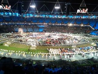 #london2012 #openingceremony Romanian athletes   by gorgeoux