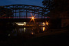 Kanalbrücke am Abend by Menel75