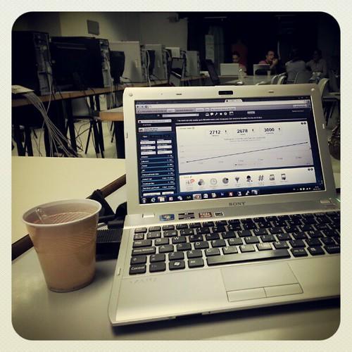 Chocolate y SocialBro para el curso #redessocialesempresa | by Pedro Baez Diaz @pedrobaezdiaz