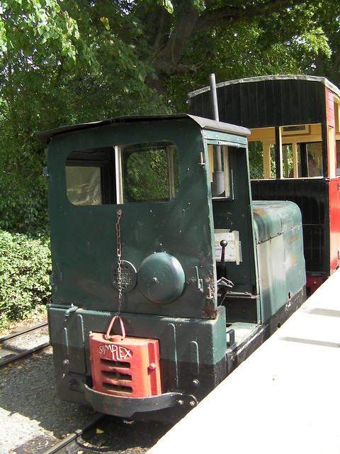 Loco Thorpness at the East Anglian Transport Museum