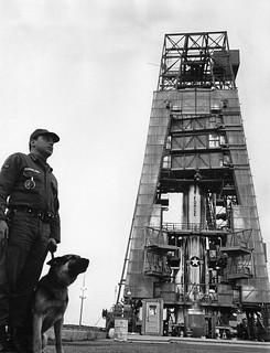 Guarding the Atlas Missile Complex Vandenberg AFB 1968