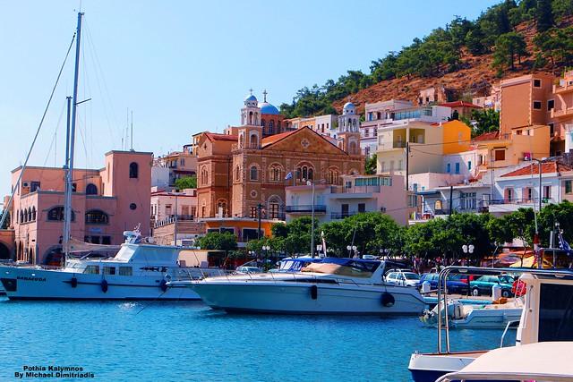 Pothia . Kalymnos. Greece .