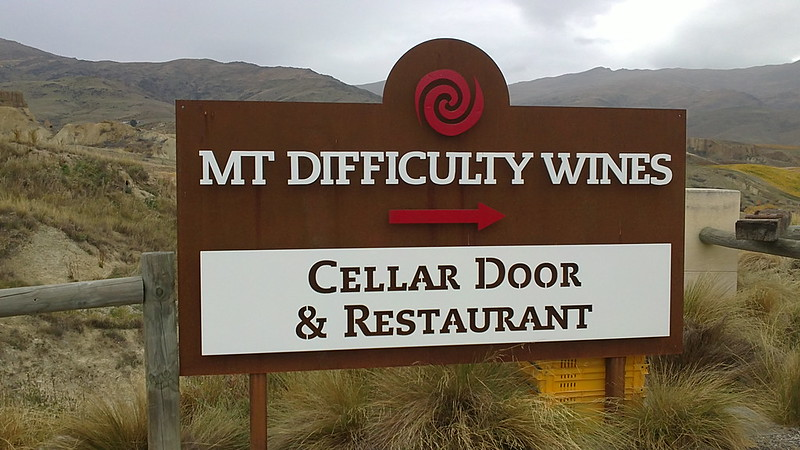Mt Difficulty Wines is one of the many vineyard in Central Otago