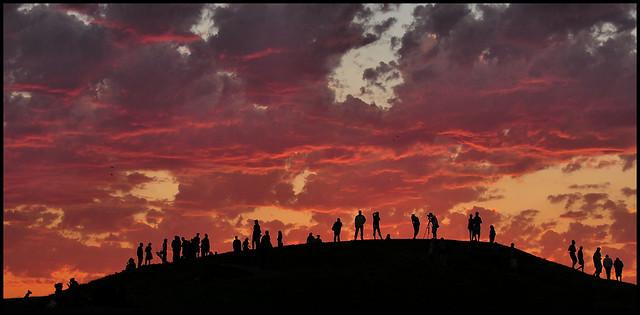 Gasworks Park sunset