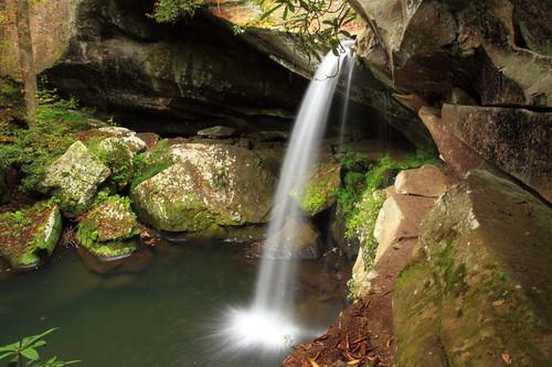 waterfall kentucky jacksoncounty flatlickfalls