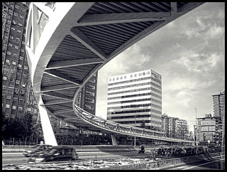 Madrid desde la ventana del bus