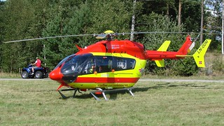 Eurocopter-Kawasaki EC-145 (BK-117C-2) LN-OOM at Rygge Air Show 2009 | by J.Comstedt