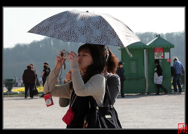 Un p'tit coin d'parapluie.....