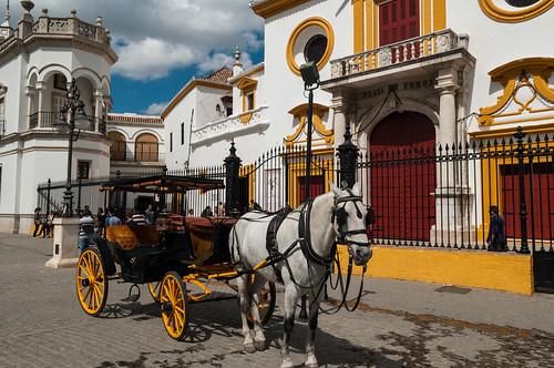 Plaza de toros de la Real Maestranza de Caballería de Sevilla | by Anna & Michal