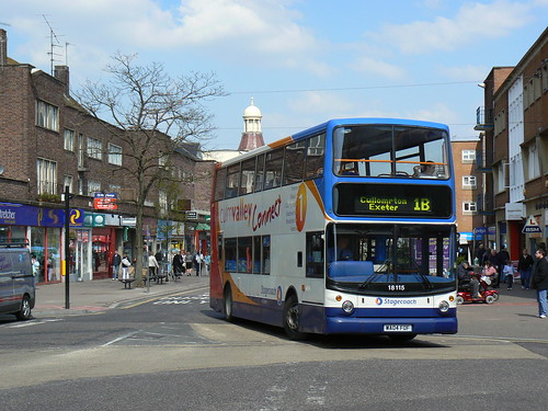Stagecoach 18115 in Exeter | by simon835