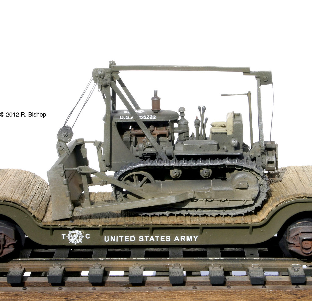 ModelCrafters WWII/Korea • U S  Army Engineers• D7 Cat Doz… | Flickr