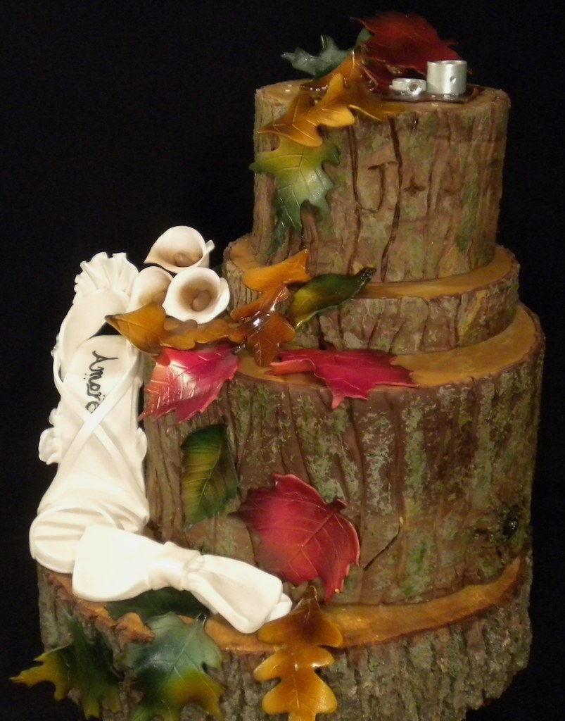 Fall Wedding Cakes.Fall Wedding Cake Beautiful Fall Wedding Cake The Top 3 Flickr