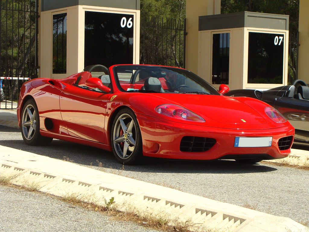 Ferrari 360 Modena Spider 2002 Plus D Infos Ici Www Sout Flickr