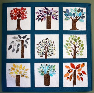 Wonky Quilt Bee - Trees | by Quilt. Knit. Share.