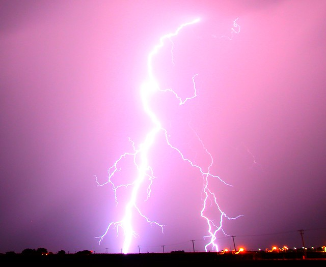 080112 - Nebraska Thunderstorm & Lightning!