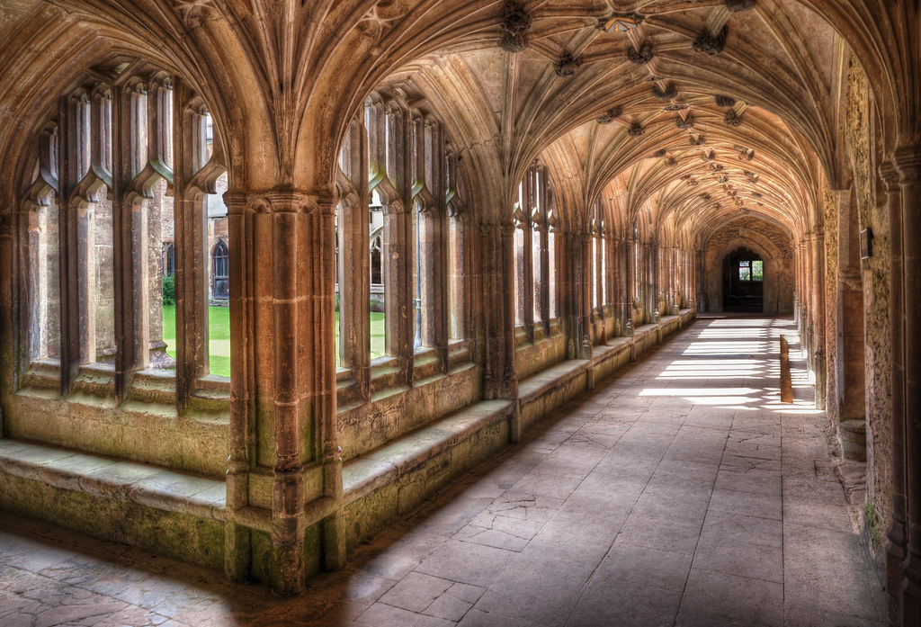 Cloisters of the Abbey