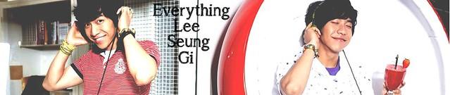 Lee Seung Gi Edwin Banner