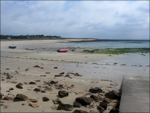 Longis Bay, Alderney