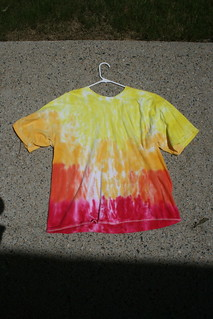 Sunset  inspired Tie Dye Shirt | by 7263255