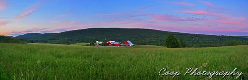 city pink sunset red green field june clouds barn forest photography nikon purple dale union north 15 center east pa coop 2012 northeastern herrick pennsylvani d90