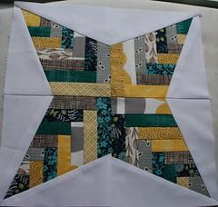 Basket Weave Block - Shanna July Sew Bee it